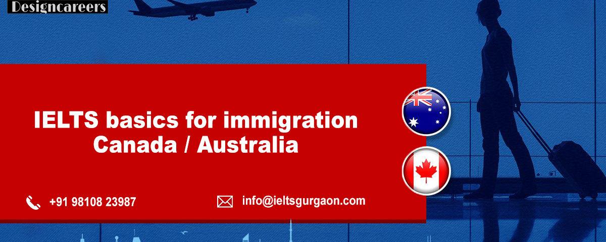IELTS Basics for Immigration Canada/Australia